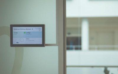 Digitale møderumsdisplay