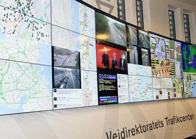 Traffic control center Copenhagen Denmark