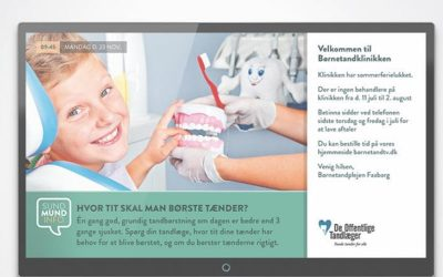 """""""Sund Mund"""" Information Screen to Denmark's Dental Community"""